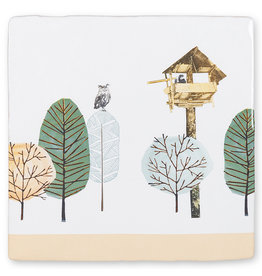 Storytiles Decorative Tile Birdwatcher small