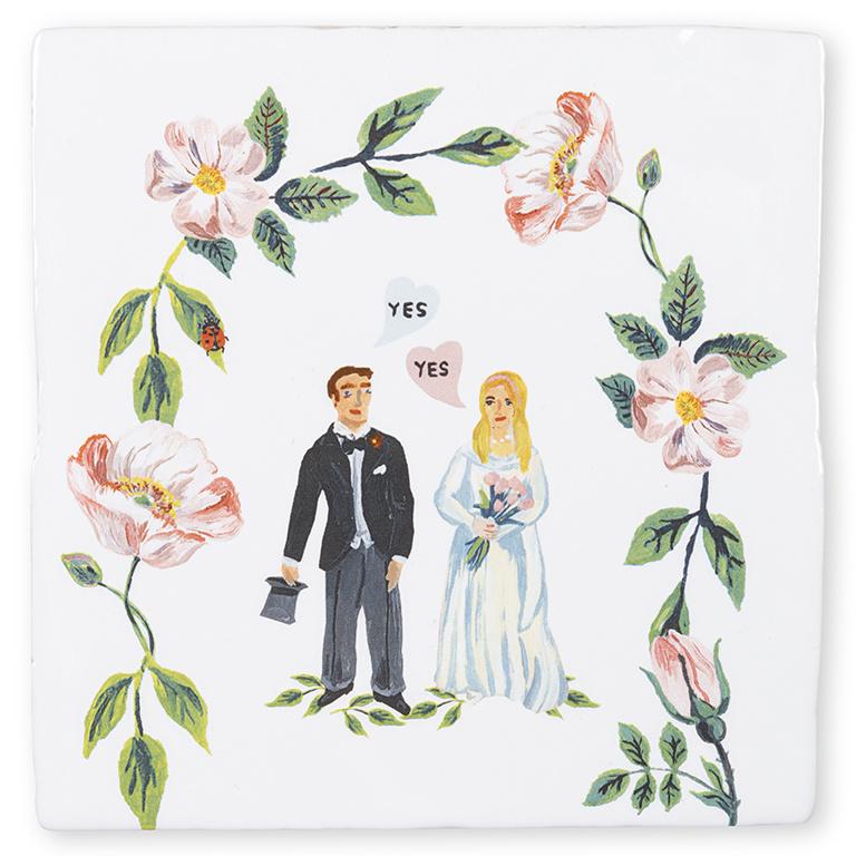 Storytiles Dekorative Fliese She Said Yes small