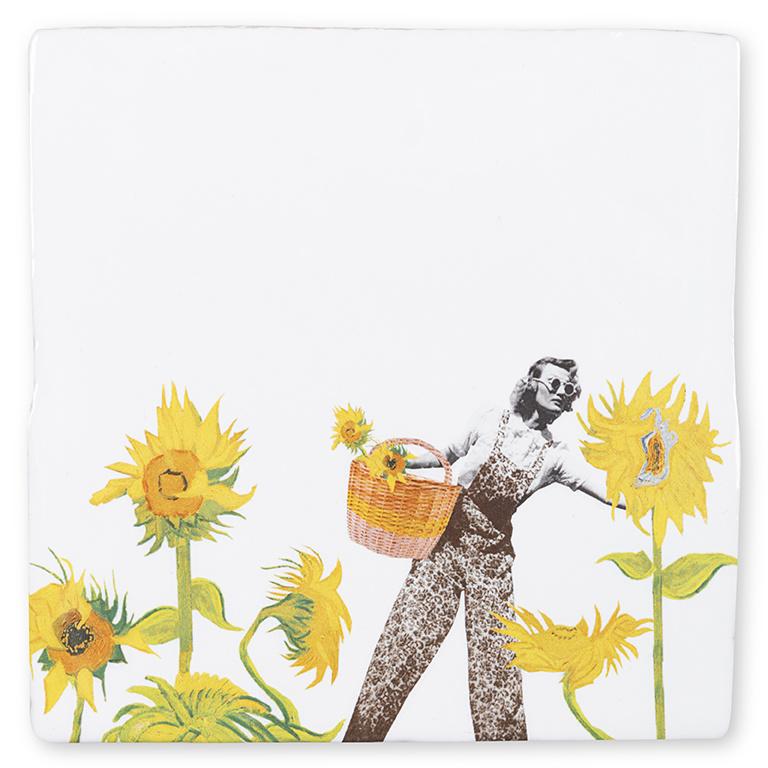 Storytiles  Decorative Tile Flower Power medium