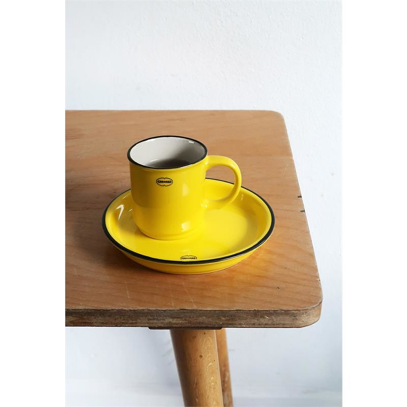 Cabanaz Stapelbare Tasse gelb