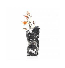 Pepe Heykoop Papier Vase Abdeckung Marble Black small