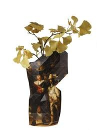 Pepe Heykoop Paper Vase Cover The Nightwatch Rembrandt large