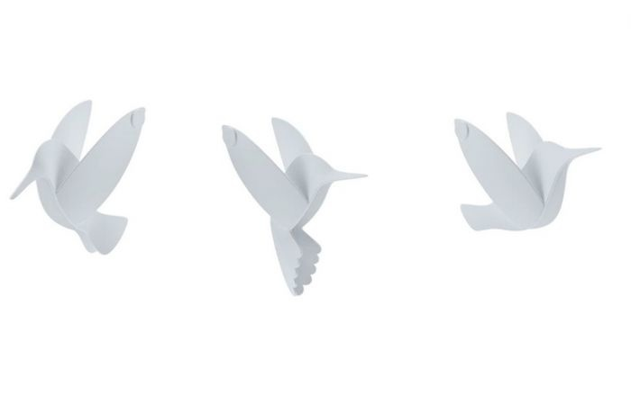 Umbra Wanddecoratie Hummingbird white