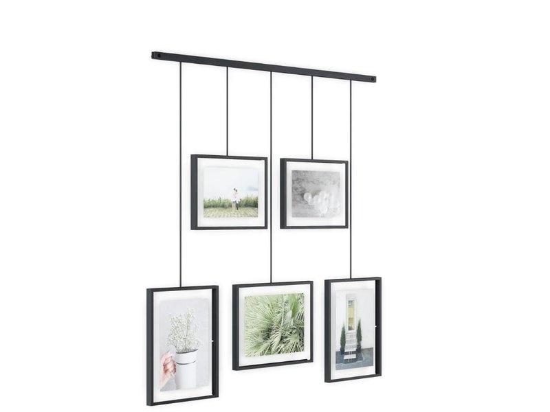 Umbra Photo Frame Exhibit multi black