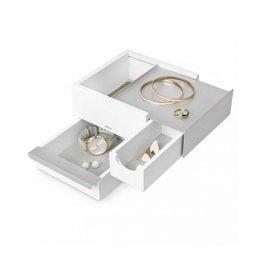 Umbra Jewelery box Stowit mini white