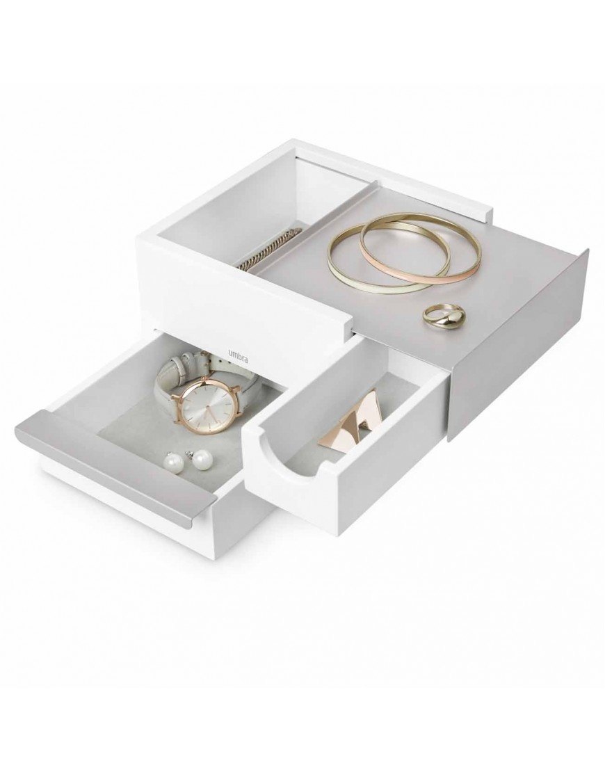 Umbra Jewelery box Stowit mini white