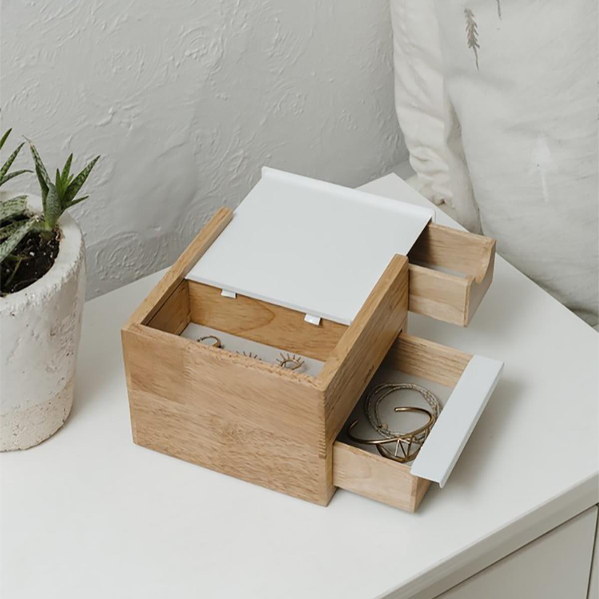 Umbra Jewelry Box Stowit mini holz