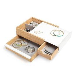 Umbra Jewelery box Stowit wood