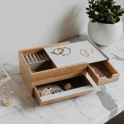 Umbra Jewelry Box Stowit holz