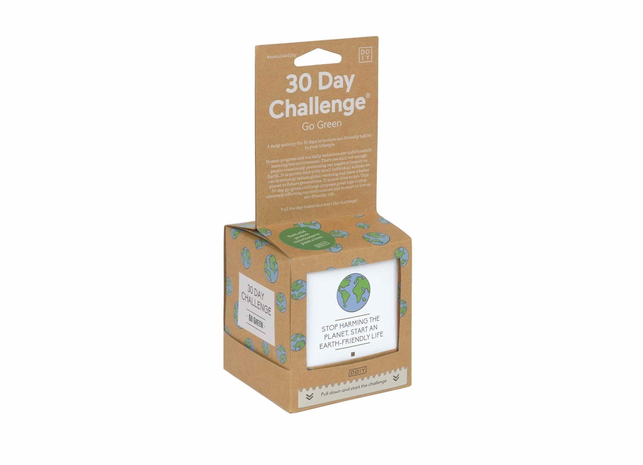 Doiy 30 Dagen Go Green Challenge