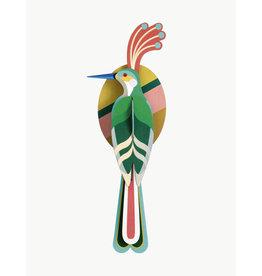 Studio Roof 3D Wall Decoration Paradise Bird Nias