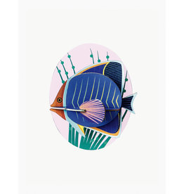 Studio Roof 3D Wall Decoration Butterfly Fish