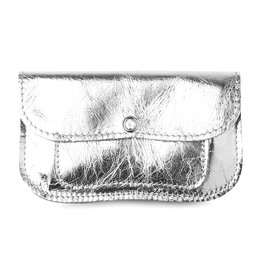 Keecie Wallet Cat Chase Medium silver