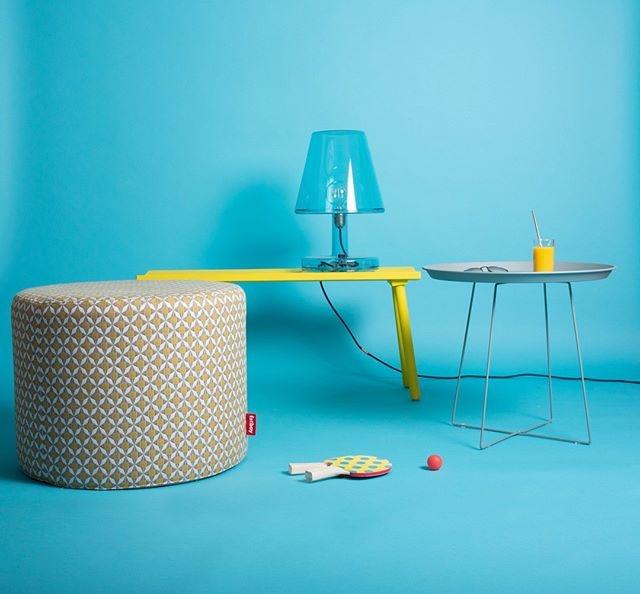 Fatboy Table lamp Trans-Parents blue