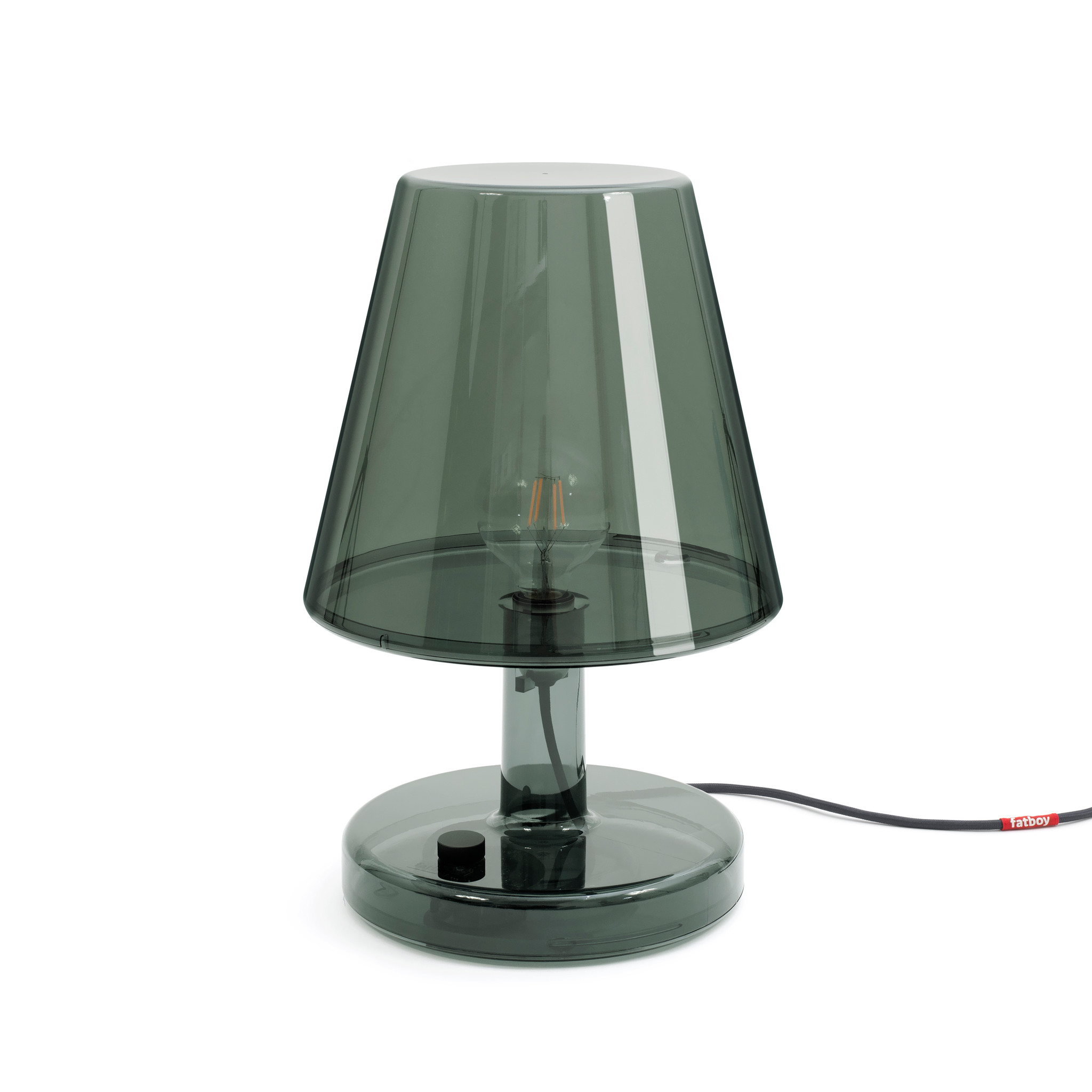 Fatboy Table lamp Trans-Parents dark grey