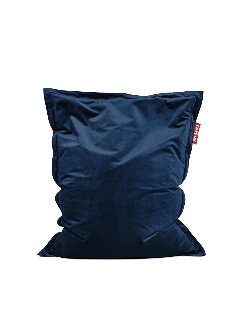 Fatboy Beanbag Original Slim Velvet dark blue