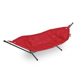 Fatboy Hammock with Frame Headdemock red
