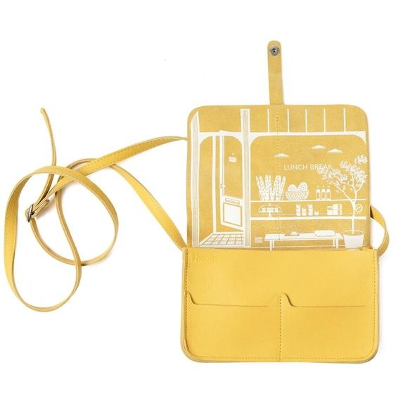 Keecie Handbag Lunch Break yellow
