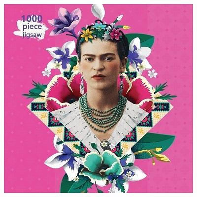Flame Tree Publishing Puzzle Frida Kahlo 1000 Stücke