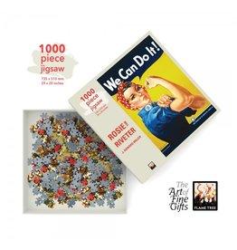 Flame Tree Publishing Puzzel Rosie the Riveter 1000 stukjes