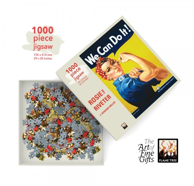 Flame Tree Publishing Puzzle Rosie the Riveter 1000 pieces
