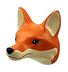 The Zoo Coat Rack Hook Fox