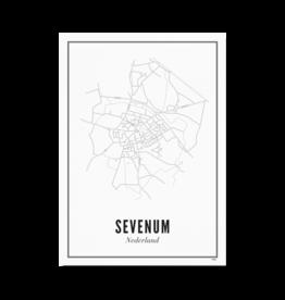 Wijck Poster Sevenum 21 x 30 cm