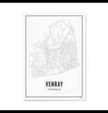 Wijck Poster Venray 30 x 40 cm