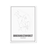 Wijck Poster Broekhuizenvorst 21 x 30 cm