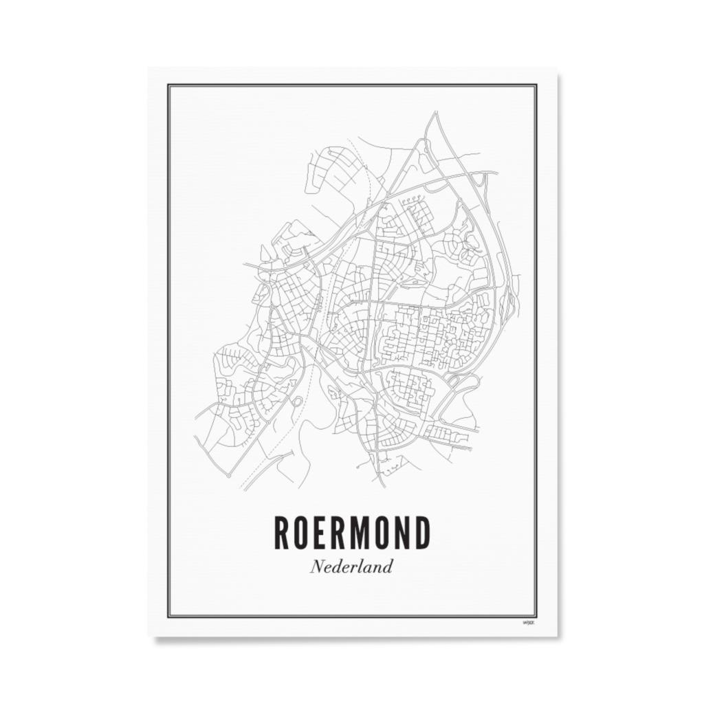 Wijck Poster Roermond 21 x 30 cm