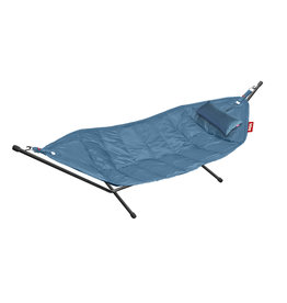 Fatboy Hammock with Frame and pillow Headdemock petrol