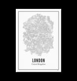 Wijck Poster Londen 30 x 40 cm