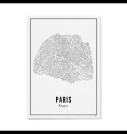 Wijck Poster Parijs 21 x 30 cm