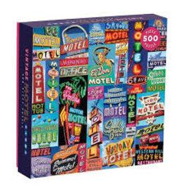 Galison Puzzle Vintage Motel 500 pieces