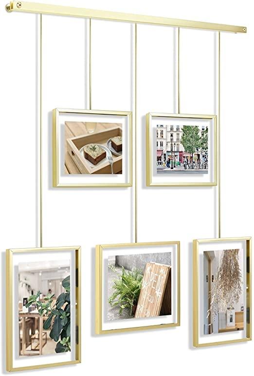 Umbra Fotolijst Exhibit multi mat messing