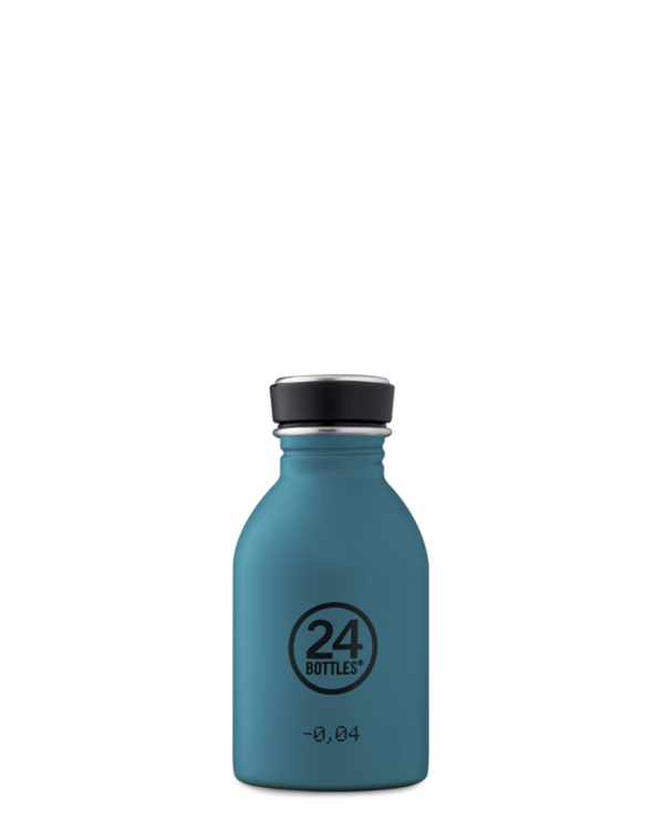 24Bottles Urban Drinking Bottle 0,25 L Stone Atlantic Bay
