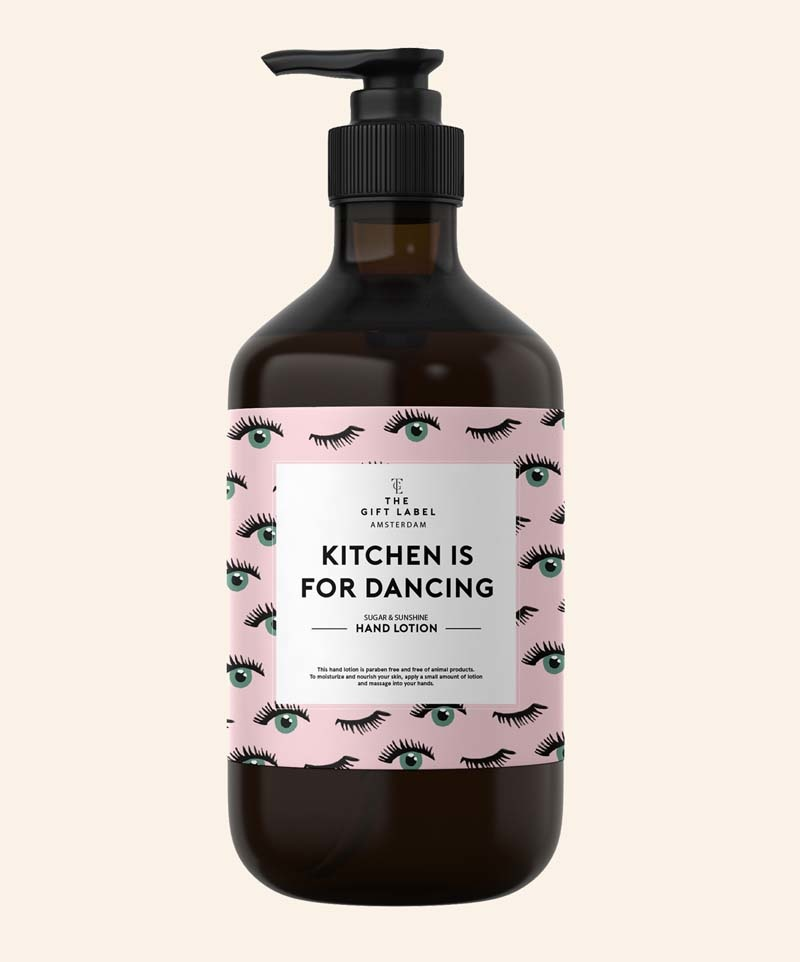 The Gift Label Hand Lotion Kitchen is for Dancing 250ml