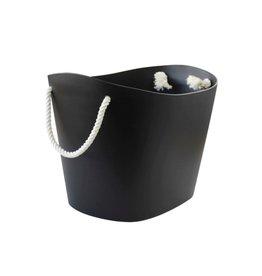 Hachiman Aufbewahrungskorb Balcolore medium schwarz