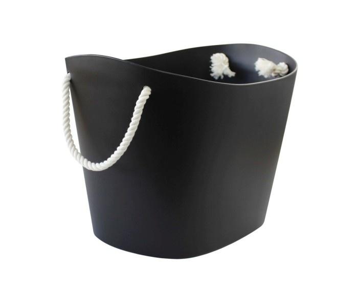 Hachiman Storage basket Balcolore medium black