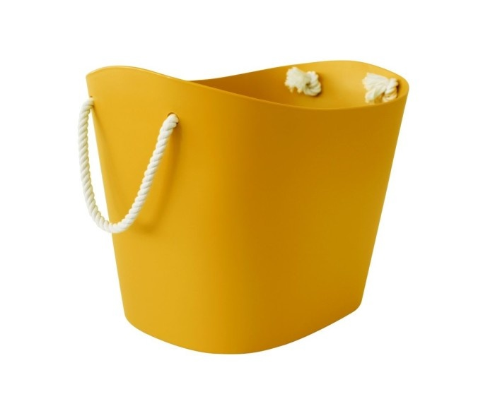 Hachiman Storage basket Balcolore medium yellow