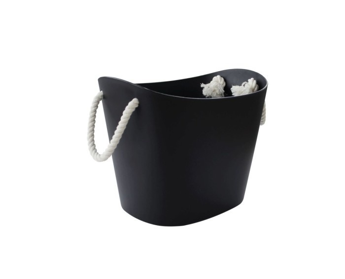 Hachiman Storage basket Balcolore small black