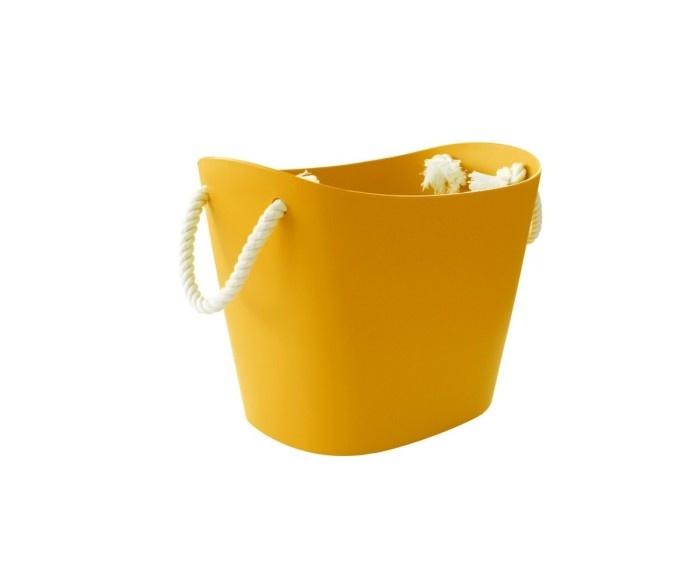 Hachiman Storage basket Balcolore small yellow