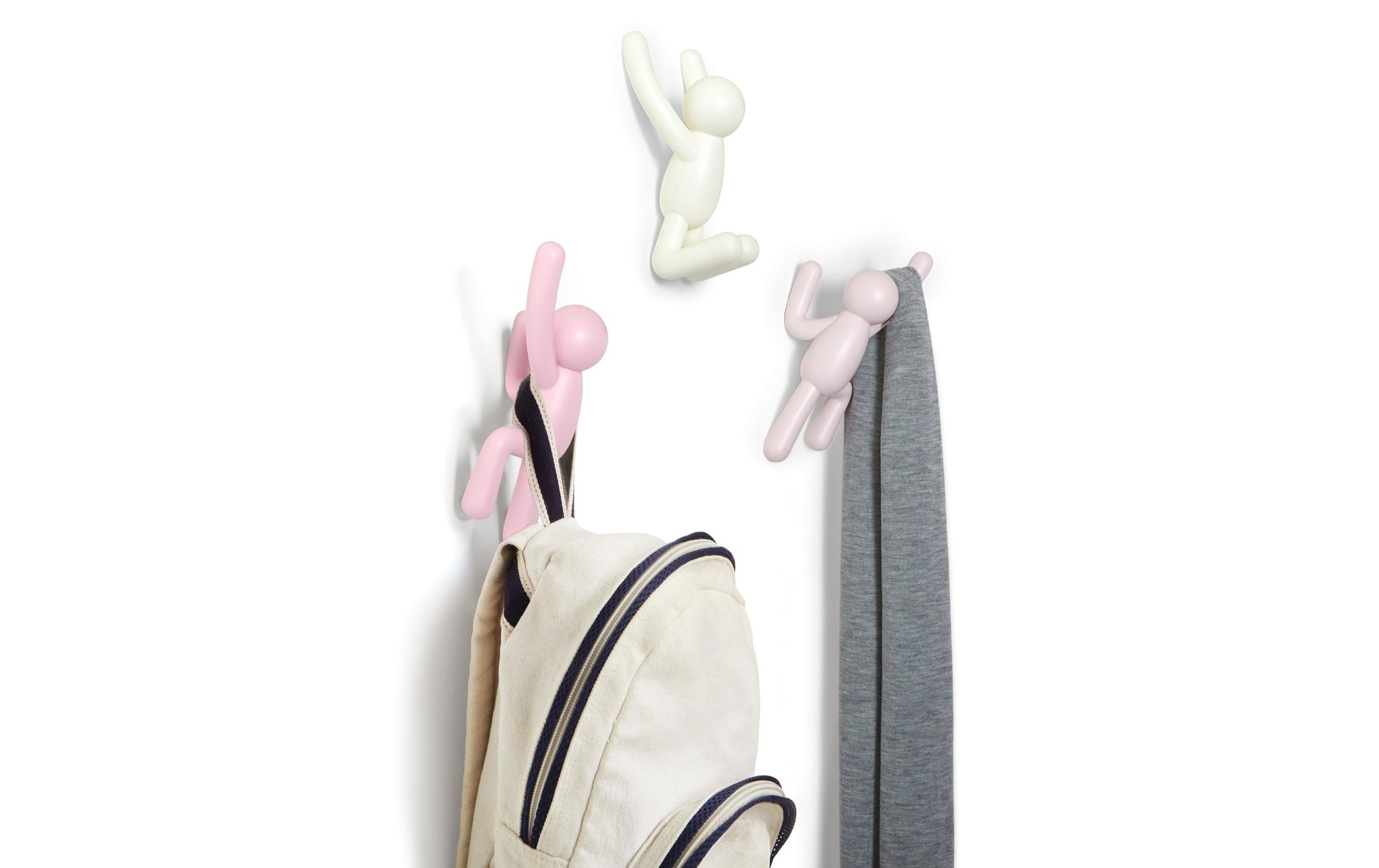 Umbra Wall Hooks Buddy pink