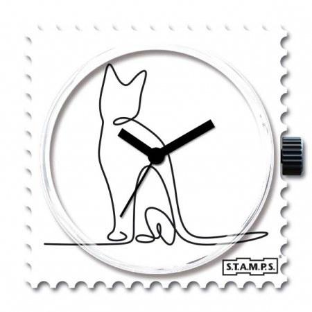 S.T.A.M.P.S Klokje Lovely Cat