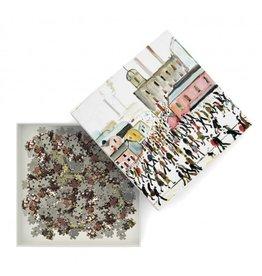 Flame Tree Publishing Puzzel  Going to Work 1000 stukjes