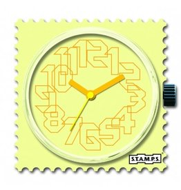 S.T.A.M.P.S Watch Yellow Iris