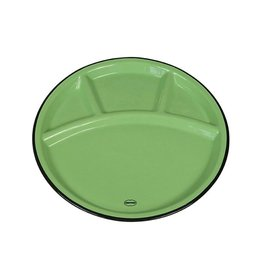 Cabanaz Fondue plate green