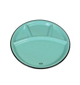 Cabanaz Fondue plate blue