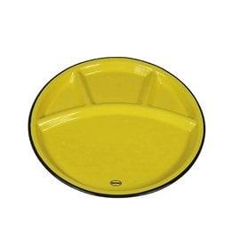Cabanaz Fondue plate yellow