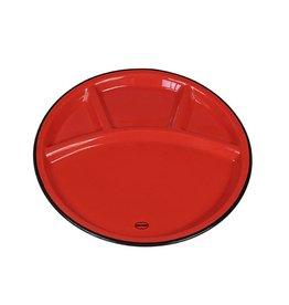 Cabanaz Fondue Bord rood